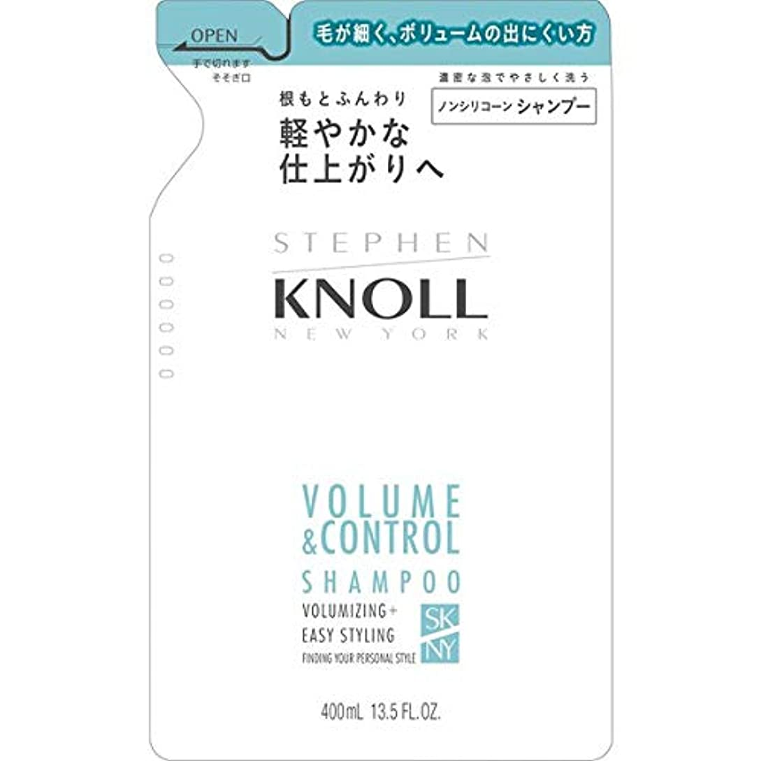 招待センサー男コーセー スティーブンノル ボリュームコントロール シャンプー (詰替え用) 400ml
