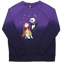 Disney Women's Nightmare Before Christmas Longsleeve Top Sweater