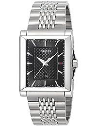 [グッチ]GUCCI 腕時計 G-TIMELESS レクタングル ブラック文字盤 YA138401 メンズ 【並行輸入品】
