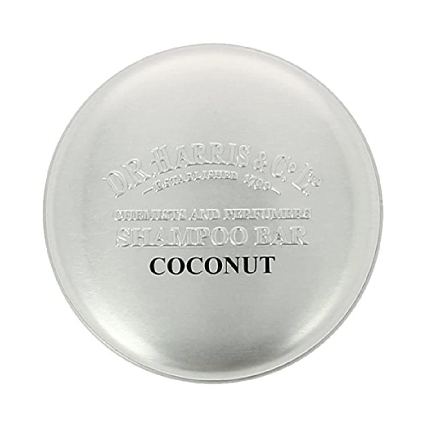 最小化するアイスクリーム殺すD Rハリス ココナッツシャンプーバー50g[海外直送品] [並行輸入品]