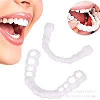 Orthodontic Retainer, Teeth Whitening And Straightening Sports Mouthguard Silicone Braces Transparent Soft And Hard Teeth Veneer To Maintain Smile Comfort