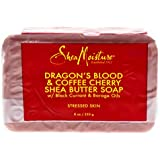 Shea Moisture Dragons Blood & Coffee Cherry Shea Butter Soap - Stressed Skin by Shea Moisture for Unisex - 8 oz Bar Soap, 230 g