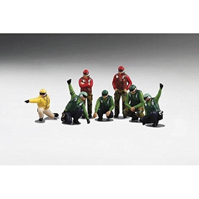 TrueScale Miniatures 1/72 US NAVY デッキクルー ランチチーム フィギュア8体セット 完成品