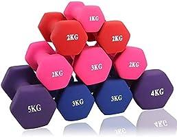 ダンベル【2個セット1kg 2kg 3kg 4kg 5kg 6kg 8kg10kg】【 選べる4色】筋トレ ダイエット 鉄アレイ ソフトコーティング