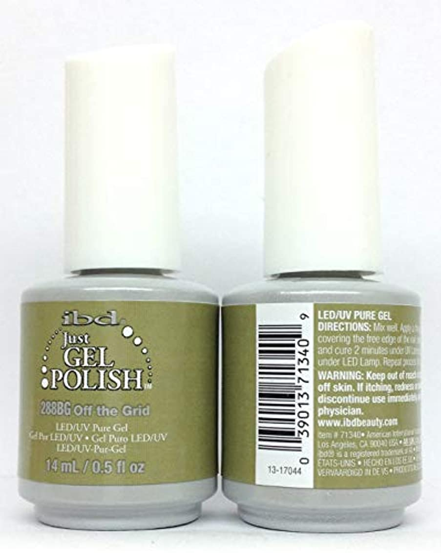西部合計システムibd Just Gel Polish - Serengeti Soul Collection - Off The Grid - 14ml / 0.5oz