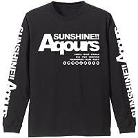 ラブライブ!サンシャイン!! Aqours ロングスリーブTシャツ ブラック Lサイズ