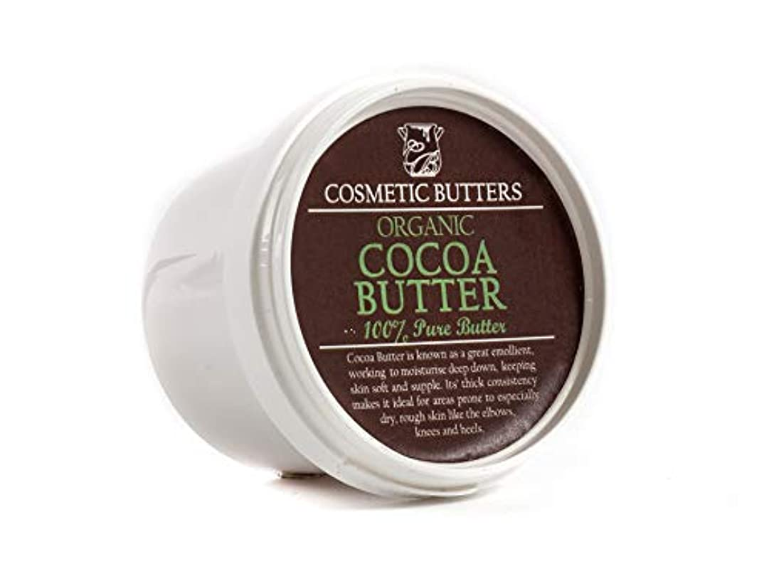洞窟エレクトロニック会議Cocoa Butter Refined Organic - 100% Pure and Natural - 100g