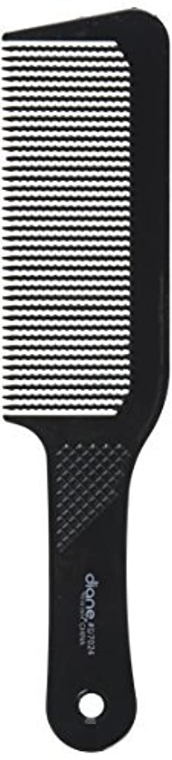 必要抗生物質売るDiane 9.5 Inch Flat Top Clipper Comb Black [並行輸入品]