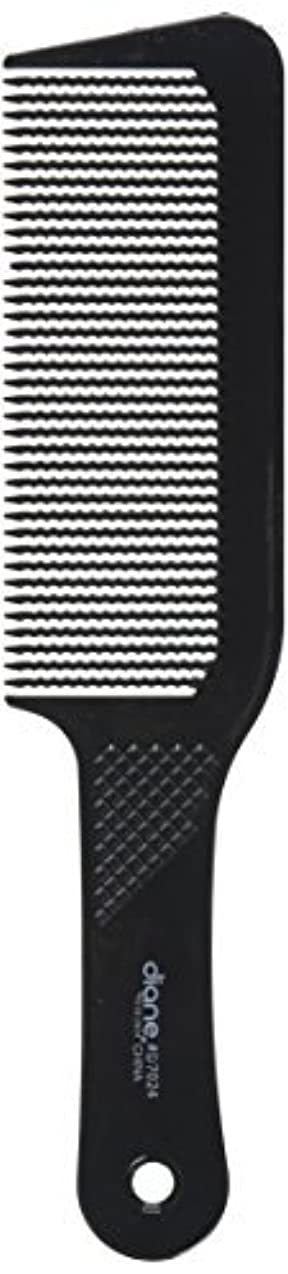 ドル付ける前文Diane 9.5 Inch Flat Top Clipper Comb Black [並行輸入品]