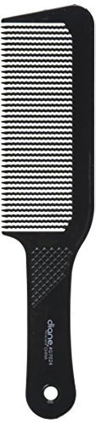 台風予防接種配列Diane 9.5 Inch Flat Top Clipper Comb Black [並行輸入品]