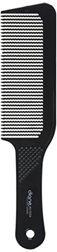 担当者船おかしいDiane 9.5 Inch Flat Top Clipper Comb Black [並行輸入品]