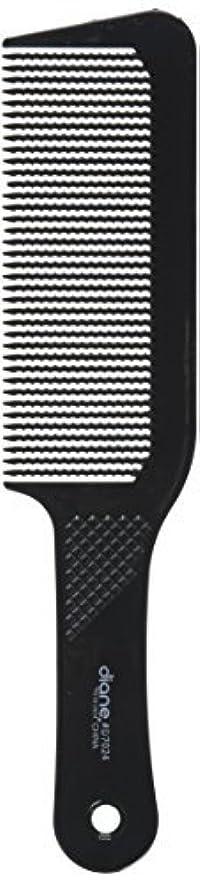 完璧小包運命Diane 9.5 Inch Flat Top Clipper Comb Black [並行輸入品]