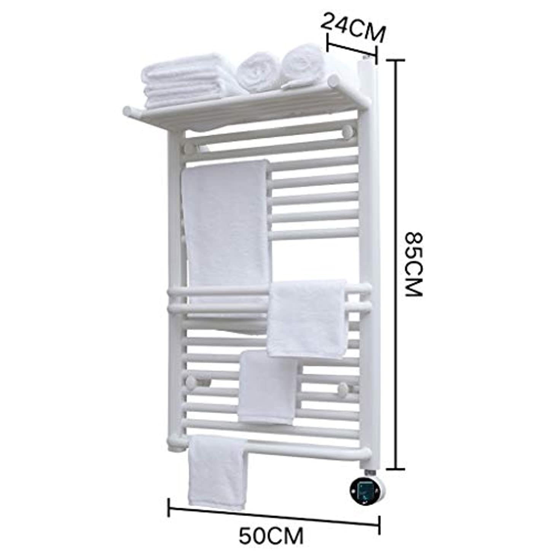 拾う変換する従順WHJ@ 熱くするタオルレールの無煙炭の浴室のラジエーター、4つのサイズ、白くおよび黒、IPX4防水、一定した温度