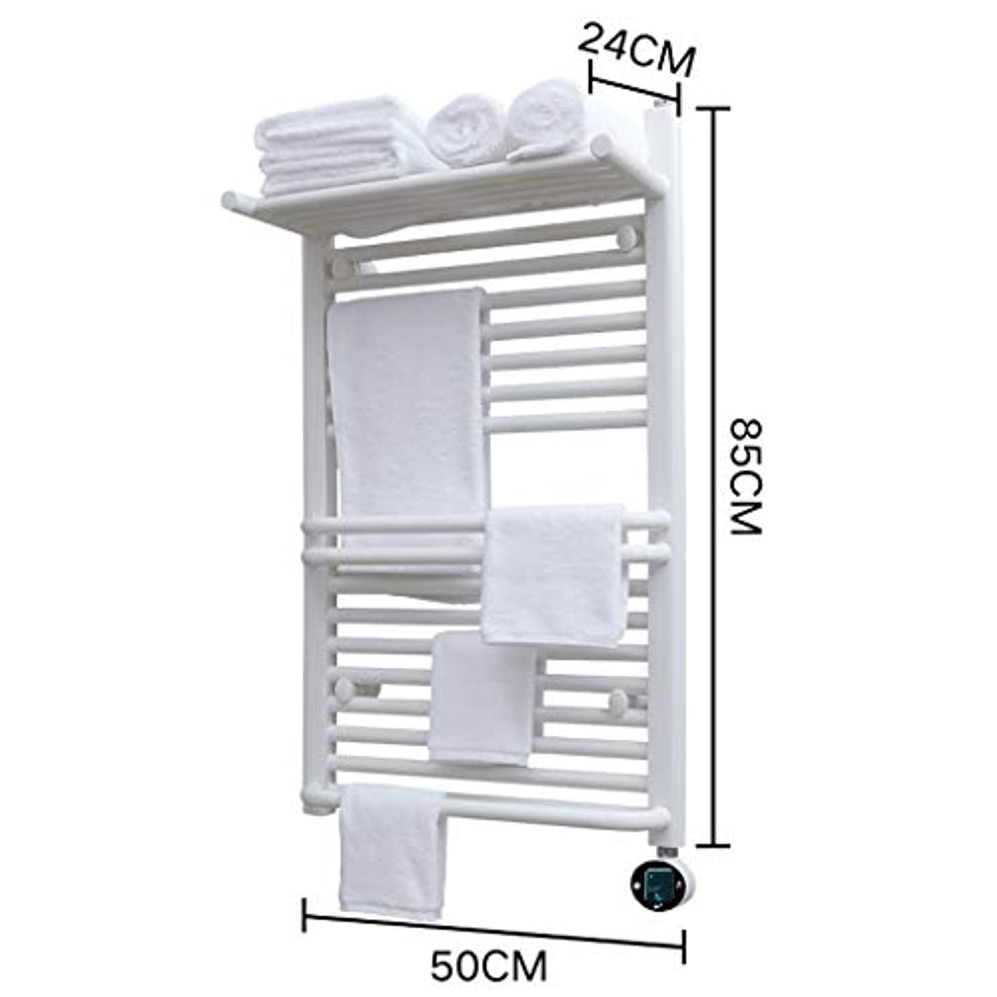 洗練ヤング鹿WHJ@ 熱くするタオルレールの無煙炭の浴室のラジエーター、4つのサイズ、白くおよび黒、IPX4防水、一定した温度