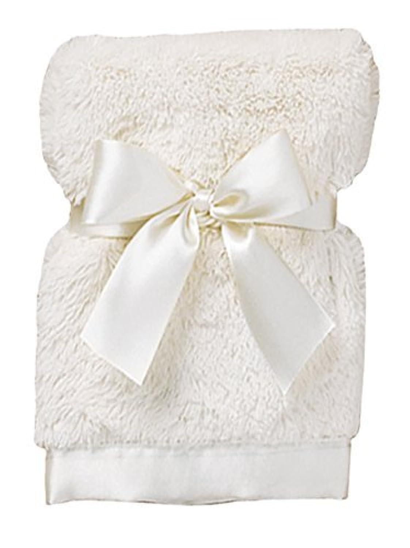 Bearington Bears Baby Cream Silky Soft Crib Blanket by Bearington Baby [並行輸入品]