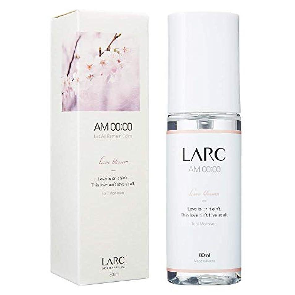 意気込み達成性差別LARC ボディミスト 80ml (AM00:00 ラブブロッサム、午前0時の香り)