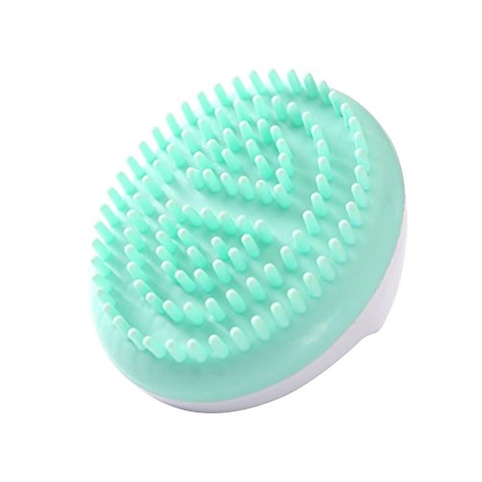 暫定手数料レンダーLURROSE セルライトマッサージブラシ手持ち風呂ブラシ抗セルライト痩身美容マッサージブラシ(グリーン)
