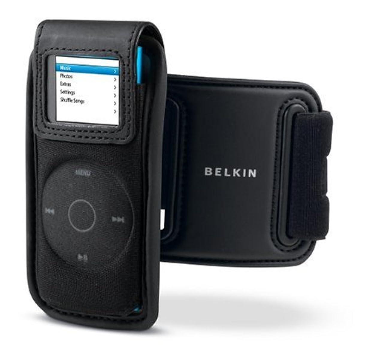 静かな炭水化物公Belkin iPod nano 2G Active Holster W/Rmvbl Armband (Black) F8Z133-BLK