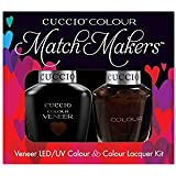 Cuccio MatchMakers Veneer & Lacquer - Duke It Out - 0.43oz / 13ml Each