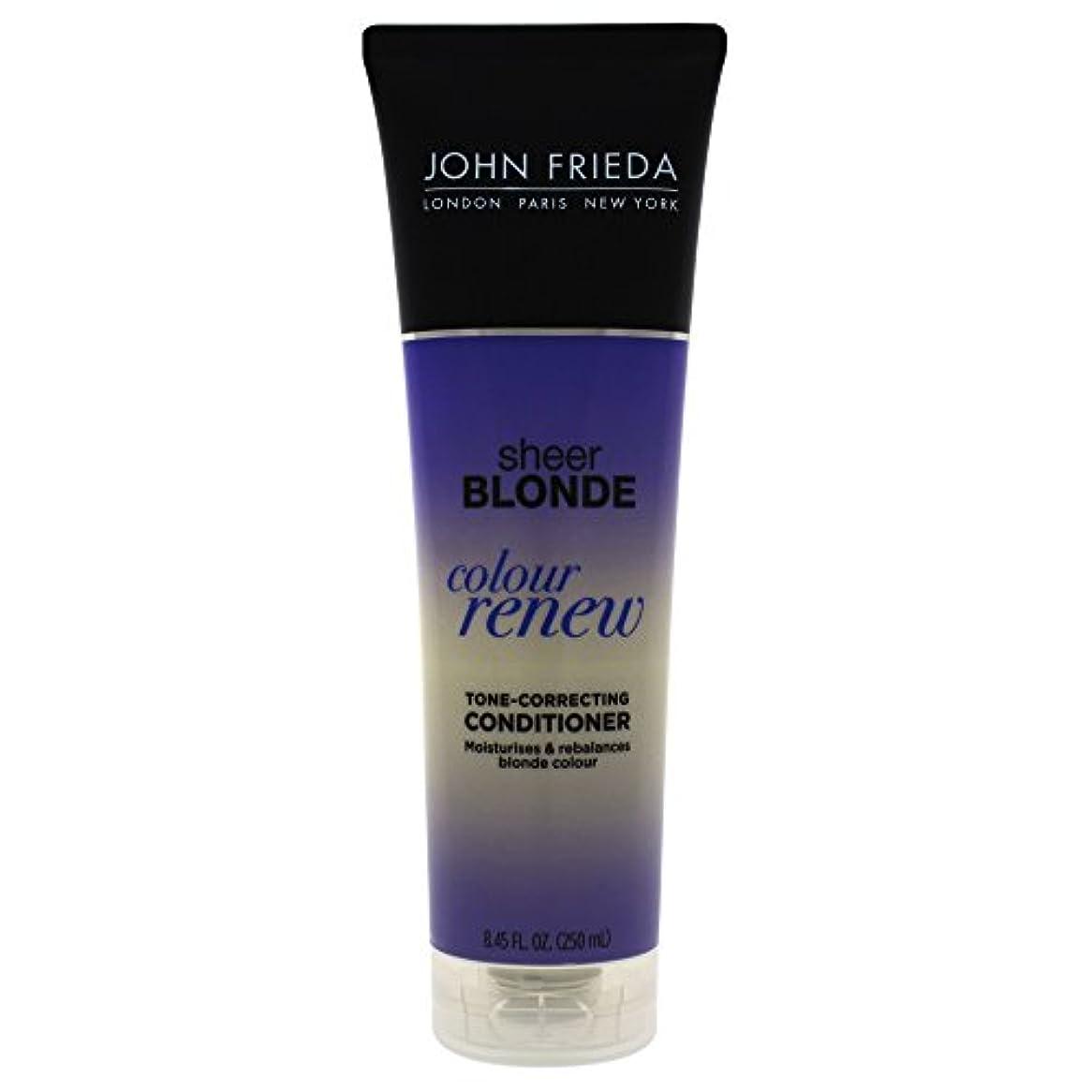 住居同情トレッドJohn Frieda Sheer Blonde Color Renew Tone Correcting Conditioner, 8.45 Ounce by John Frieda