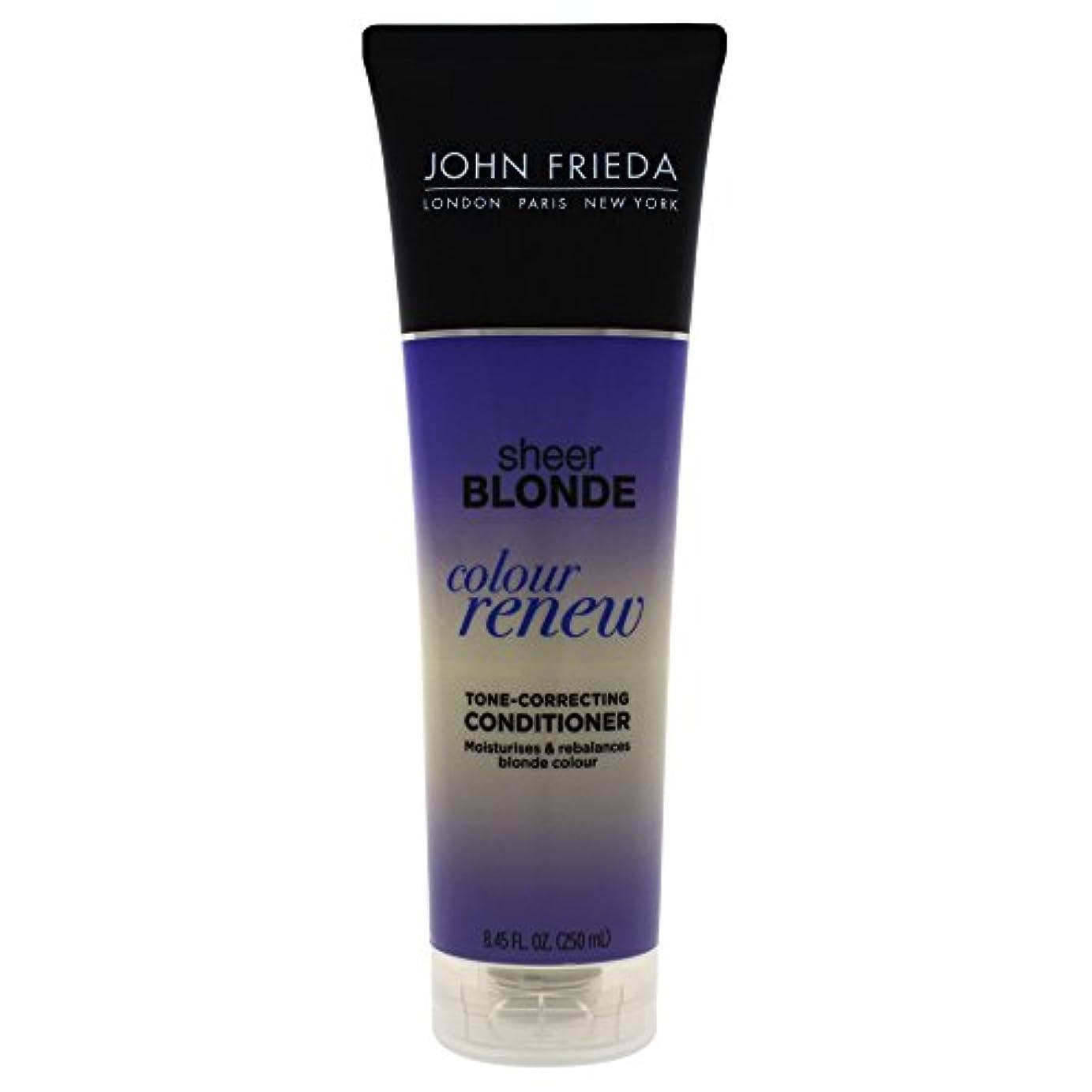 ポットラビリンス憎しみJohn Frieda Sheer Blonde Color Renew Tone Correcting Conditioner, 8.45 Ounce by John Frieda