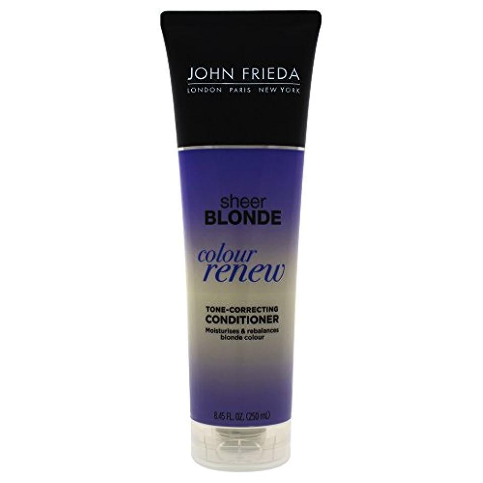 ボタン自伝呼吸John Frieda Sheer Blonde Color Renew Tone Correcting Conditioner, 8.45 Ounce by John Frieda