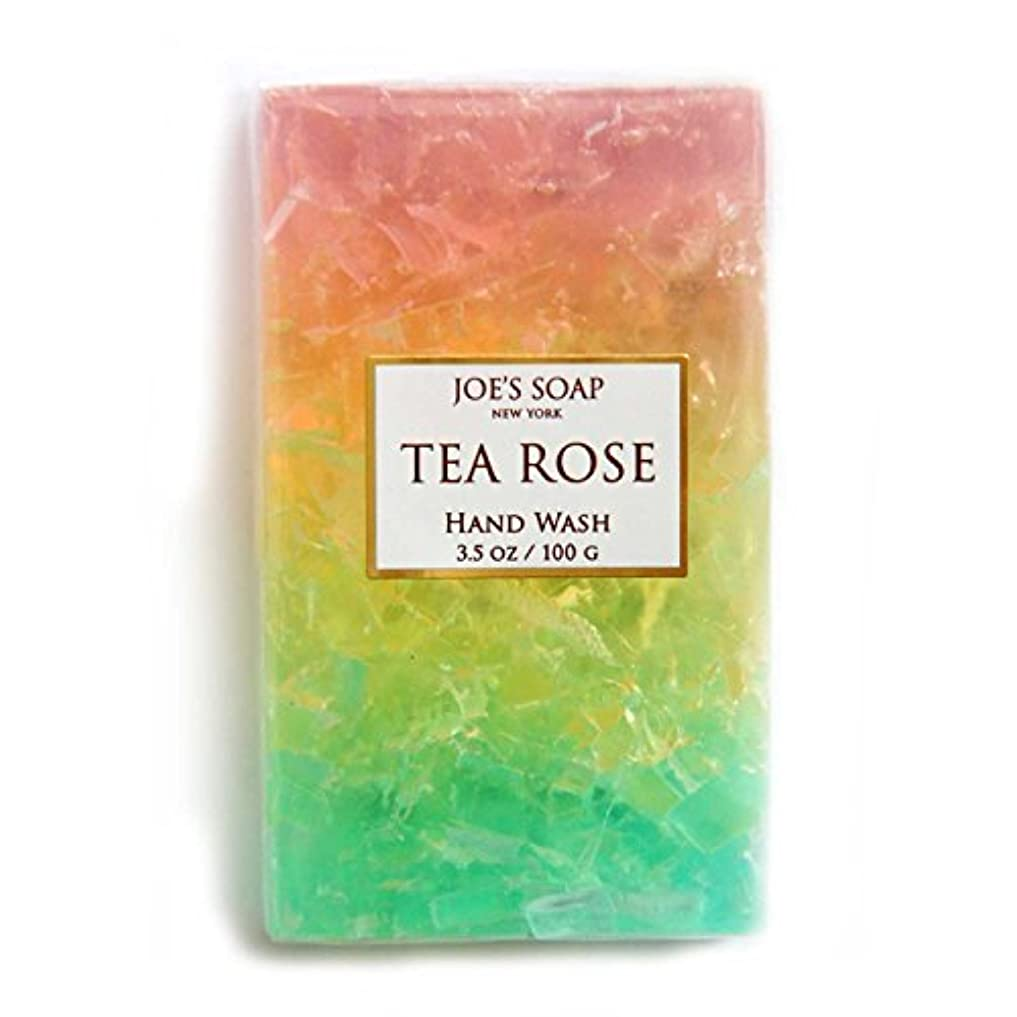 ブランデー硫黄ガチョウJOE'S SOAP ジョーズソープ グラスソープ 100g 石けん ボディソープ 洗顔料 せっけん 固形 ギフト