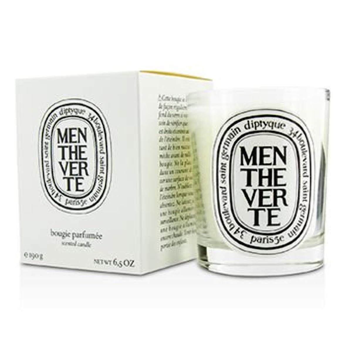 ロシアアクティブこどもの日[Diptyque] Scented Candle - Menthe Verte (Green Mint) 190g/6.5oz