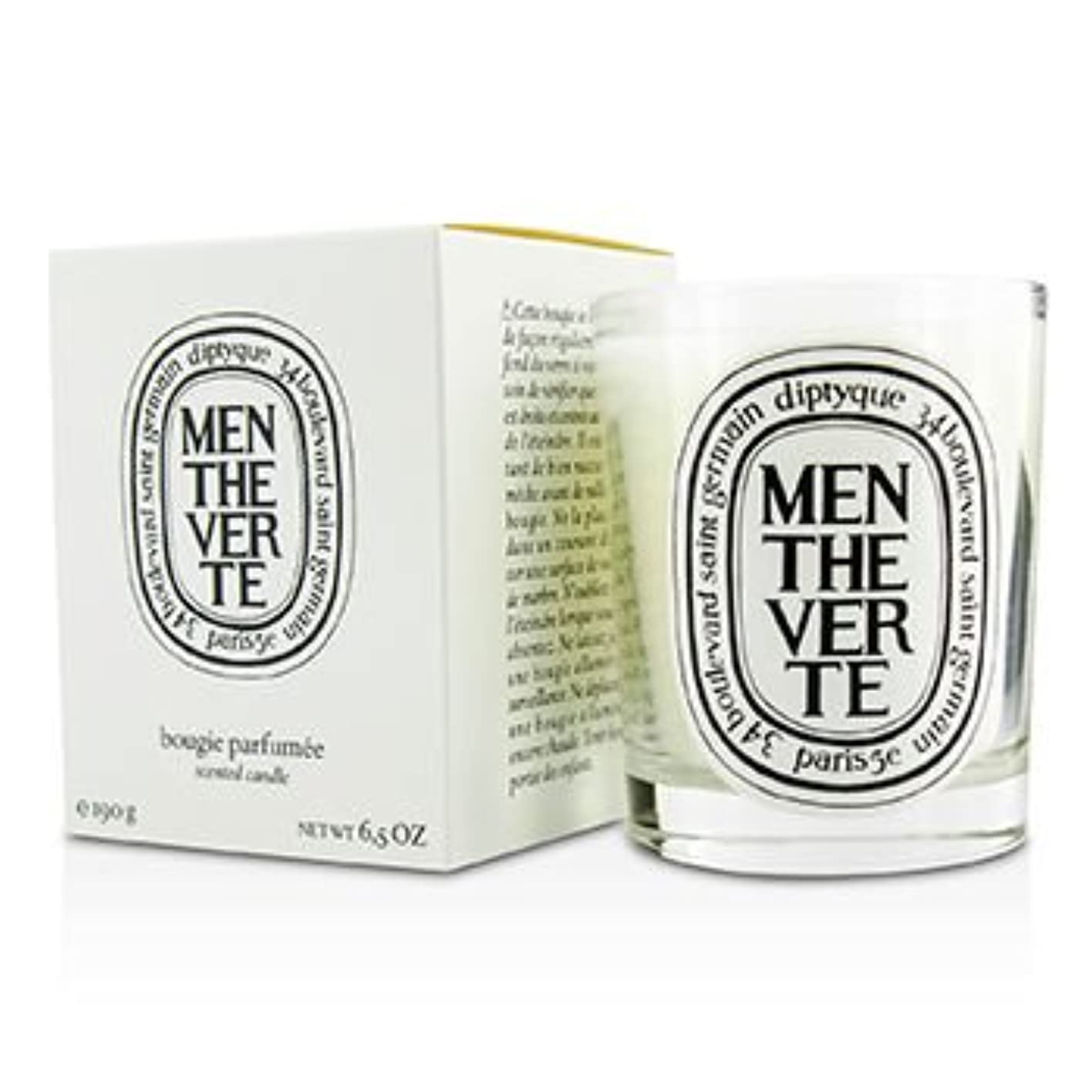 変装した免疫する世紀[Diptyque] Scented Candle - Menthe Verte (Green Mint) 190g/6.5oz