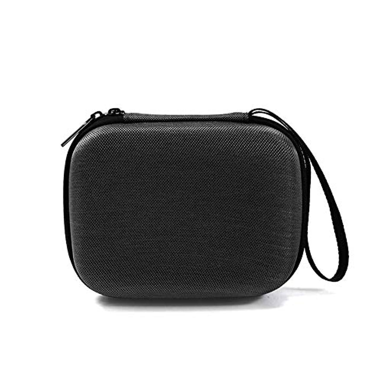 作家アーティキュレーションジャンク精油 収納バッグ エッセンシャルオイルボックス ミニ 耐衝撃 保護カバー 旅行 キャリングケース 収納ボックス 10ミリリットルボトルに適用 オックスフォード布 14.5×11.5×5.5CM