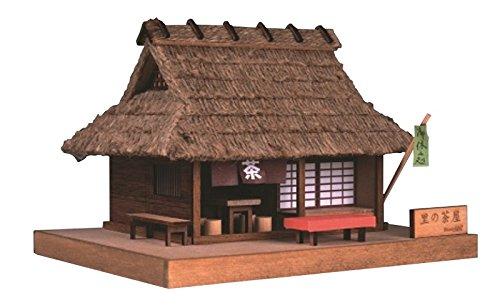 ウッディジョー ミニ建築 No.3 里の茶屋 木製模型