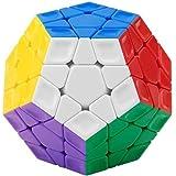 メガミンクス Megaminx キューブ 魔方【日本語攻略本付き】 立体パズル 脳トレ おもちゃ