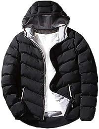 oolivupf ダウンジャケット メンズ 中綿ジャケット コート フード付き おおきいサイズ 防風防寒 暖かい 秋冬 防寒コート