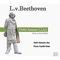 L.v.ベートーヴェン ヴァイオリンソナタ 1,2,4,5