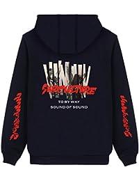 SERAPHY BTS パーカー バンダン JIMIN 防弾少年団コート フード付き 棉 通気 韓流 ヒップホップ 日常服