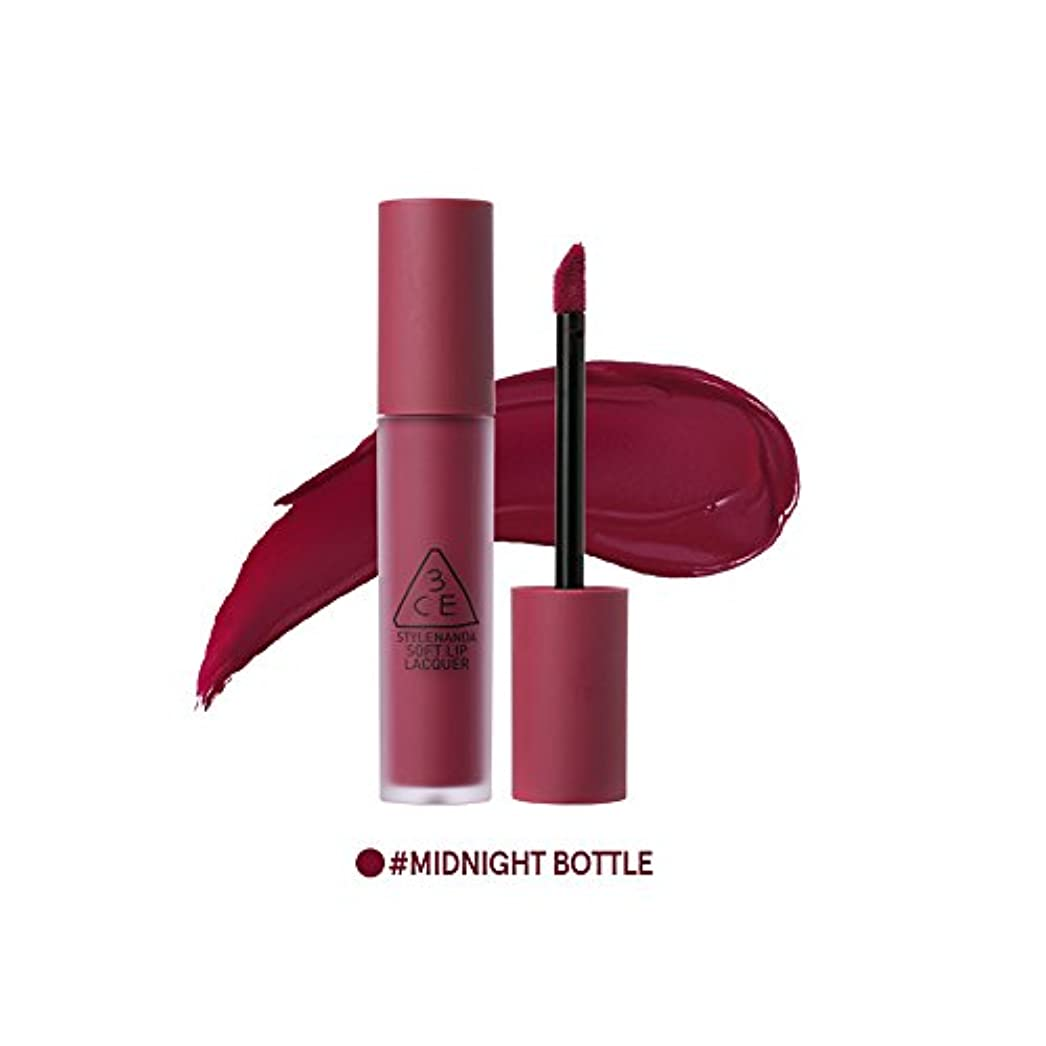 [3CE] ソフトリップロッカー海外直送品 Soft Lip Lacquer (Midnight Bottle) [並行輸入品]
