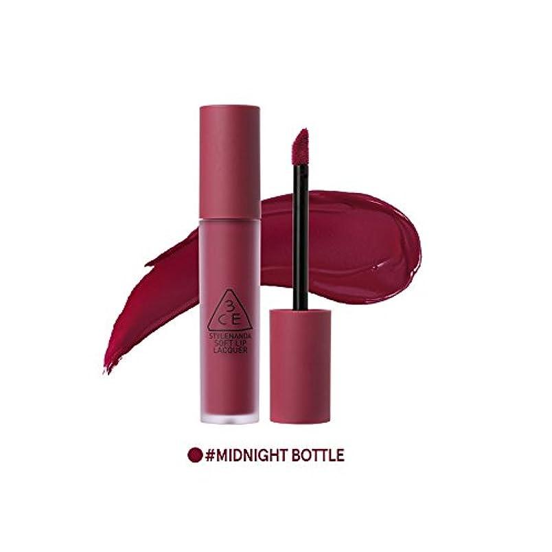 ハブ起訴するボックス[3CE] ソフトリップロッカー海外直送品 Soft Lip Lacquer (Midnight Bottle) [並行輸入品]