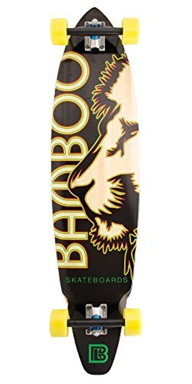 Bamboo Skateboards Square Tail Rasta Lion Graphic Complete Skateboard 38.75 x 9.65 [並行輸入品]