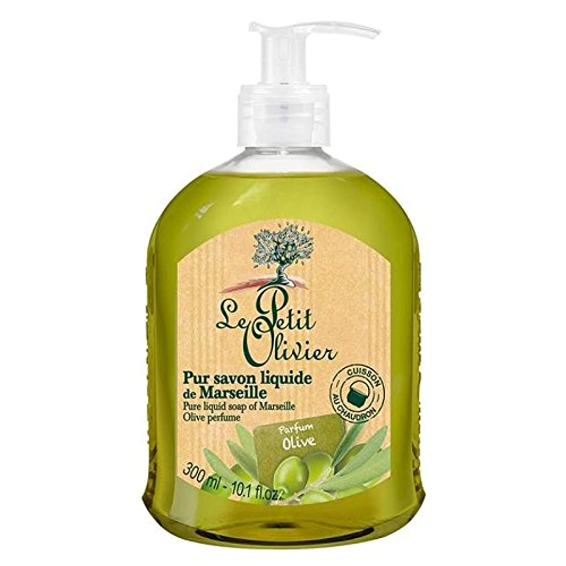 荒野聖なる農学Le Petit Olivier Pure Liquid Soap of Marseille, Olive Oil 300ml (Pack of 6) - マルセイユのル?プティ?オリヴィエ純粋な液体石鹸、オリーブオイル...