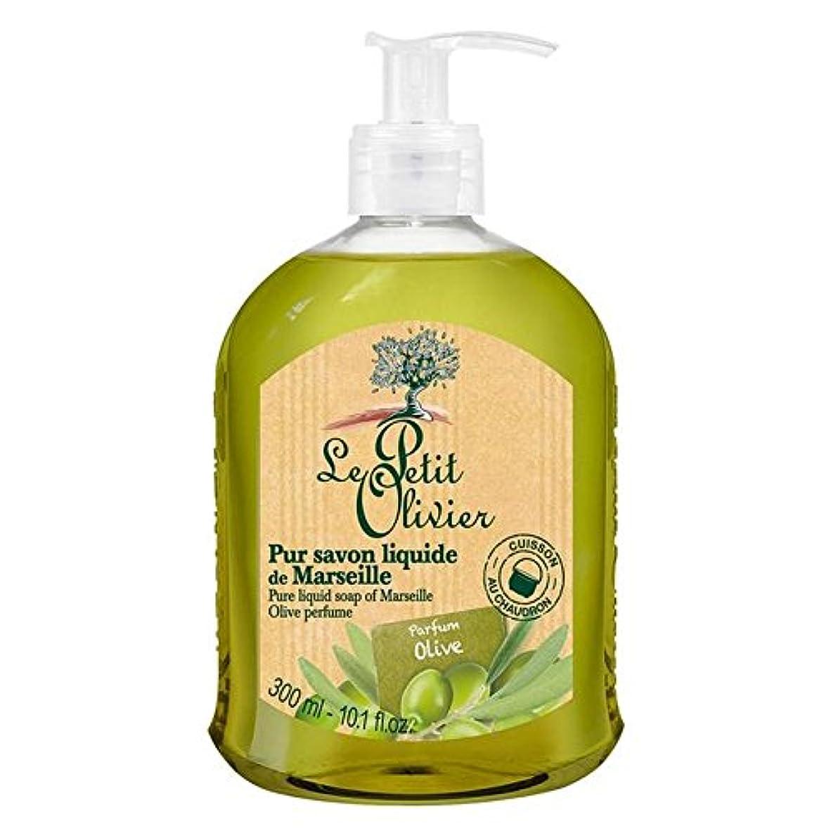 打ち上げる教育マイナスLe Petit Olivier Pure Liquid Soap of Marseille, Olive Oil 300ml (Pack of 6) - マルセイユのル?プティ?オリヴィエ純粋な液体石鹸、オリーブオイル...