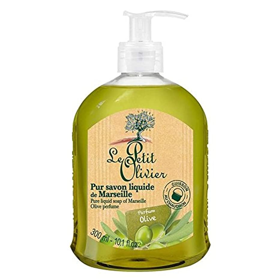 辞書ゼロ一目Le Petit Olivier Pure Liquid Soap of Marseille, Olive Oil 300ml (Pack of 6) - マルセイユのル?プティ?オリヴィエ純粋な液体石鹸、オリーブオイル...