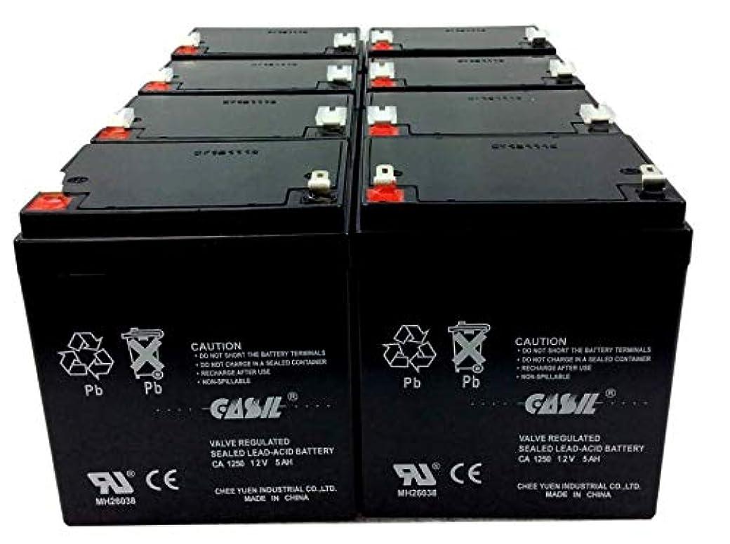 不規則な入場ヒギンズCasil 12v 5ah 4.5ah 4ah Razor E100 E125 E150 E175 電動スクーター Razor E100 RBC20J RBC29 RBC30 RBC42 RBC43 RBC42 バージョン...