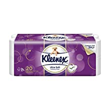 Kleenex Ultra Soft Bath Tissue, 200ct (Pack of 20)