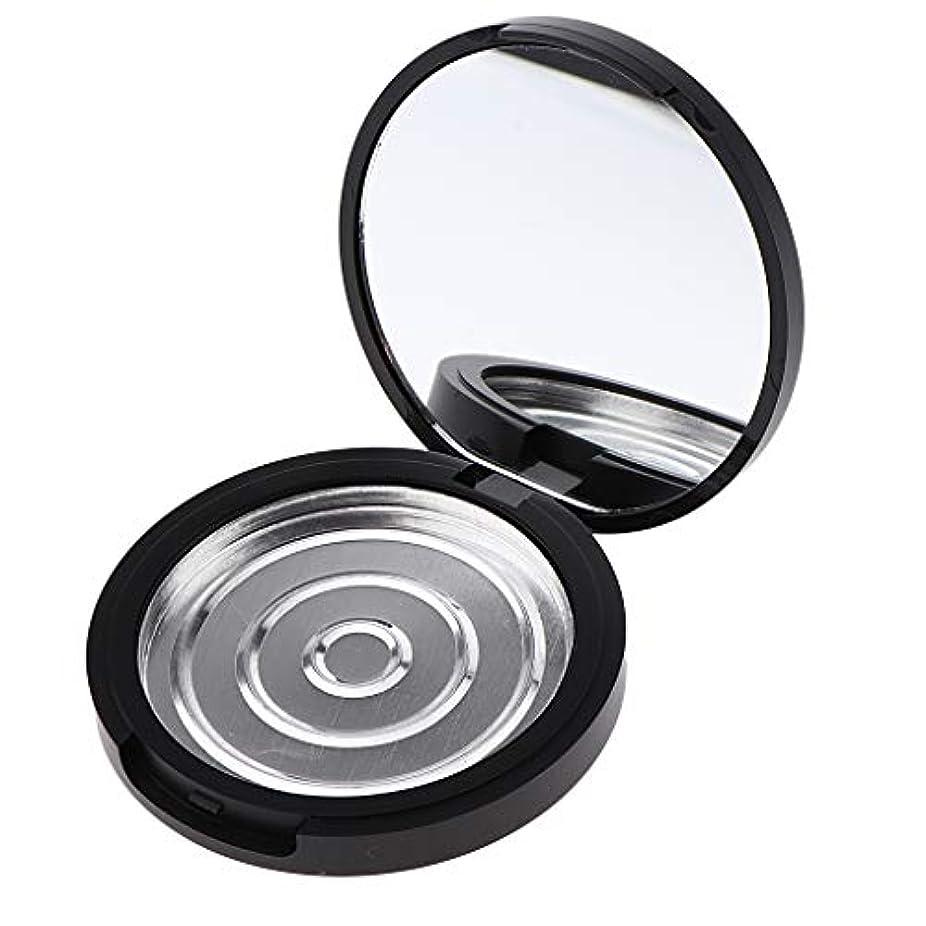 P Prettyia パウダーケース 化粧鏡付き 手作りコスメ 収納ケース 小分け容器 3サイズ選べ - 高さ17mm