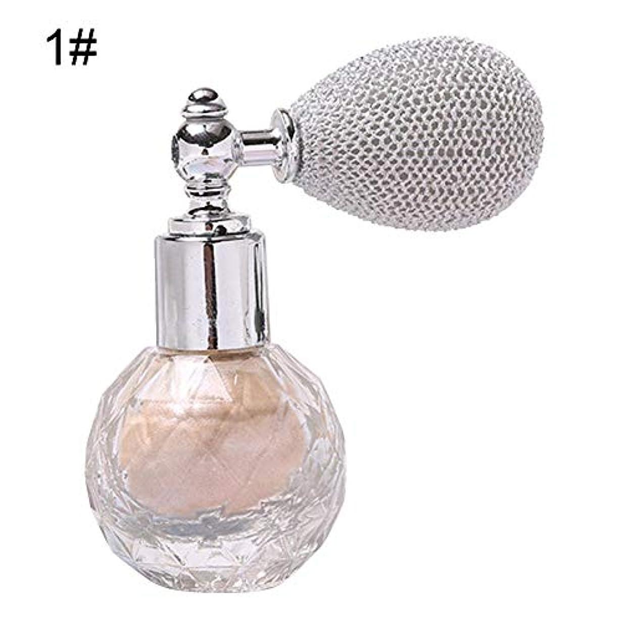 透明に折七時半Licentury グリッターパウダー スプレー 式 香水味 顔/ボディ/ヘア 化粧パウダー 4色選択可