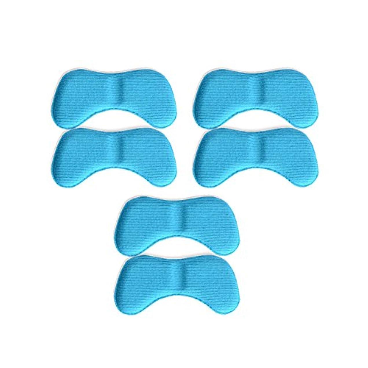 パッチスクラップ段階3ペア蝶の羽の形4 d低反発靴のクッションパッドハイヒールインソール、キャンディーブルー