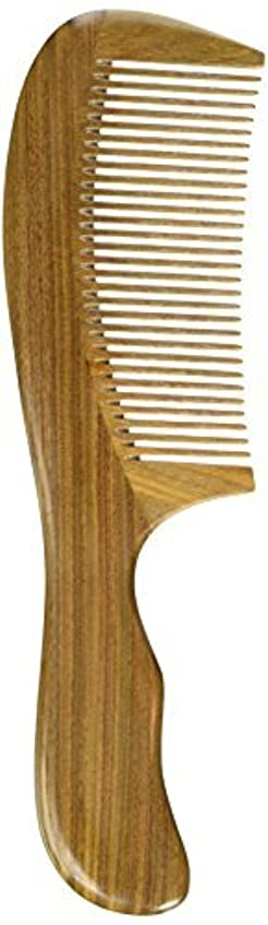 奪うパン屋キャプションEQLEF? Green sandalwood no static handmade comb,Pocket comb (standard) [並行輸入品]