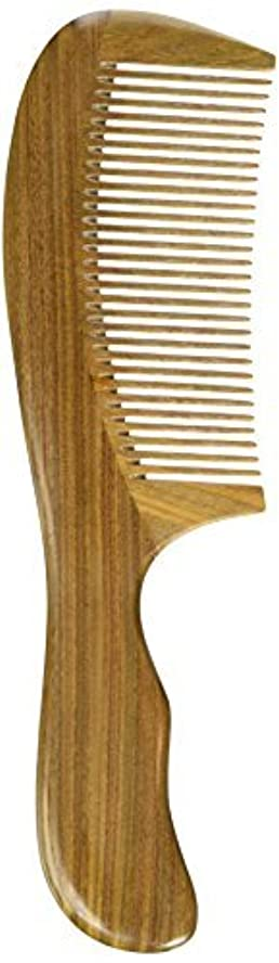 EQLEF? Green sandalwood no static handmade comb,Pocket comb (standard) [並行輸入品]