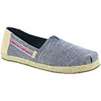 TOMS Kids Unisex-Child Girls Alpargata - K Classics (Little Kid/Big Kid)