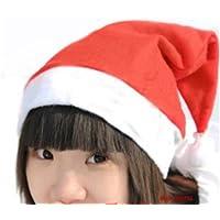 サンタ 帽子 10枚セット 子供用 サンタクロース  クリスマス X'mas
